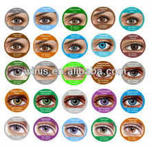 freshtone color contact lens korea cosmetic colored contact lenses 25 colors with case