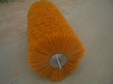 "36"" length Poly wire Snow Cleaning Roller Brush for Road Sweeper"