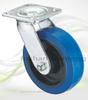 3 Inch To 8 Inch Industrial Heavy Duty Trolley Soft Rubber Wheel Caster