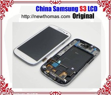 Full Original for samsung galaxy s3 lcd not lighting up touch screen digitizer assembly with best price