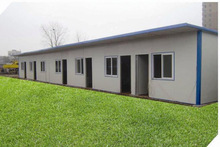 Prefabricated house folding container