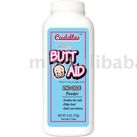 Baby Diaper Rash Powder Baby Bath Talcum Powder Zinc Oxide powder