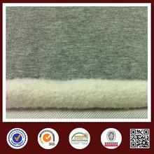 China knit fabric manufacturer organic cotton fleece fabric