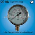 100mm anschluss unten 25bar/350psi doppelt maßstab hydraulische Öl manometer