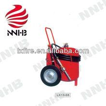 Wheeled Foam Fire Extinguisher With External N2 Cartridge 2.5L