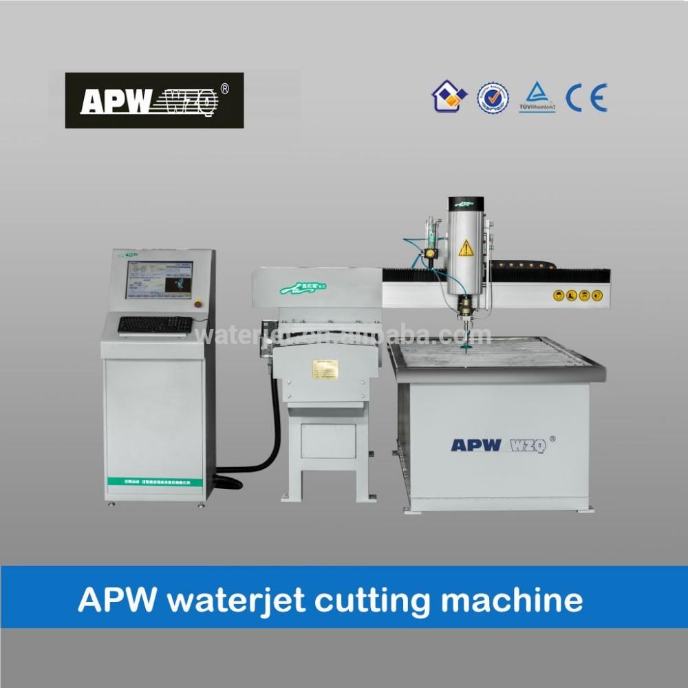 metal cutting water jet machine