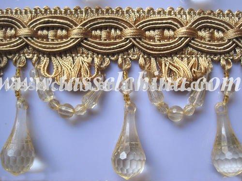 frangia di perline
