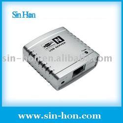 Shareing Printer Scanner by Network USB Server