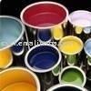 Esmalte de cerámica pigmentos - v azul