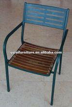 patio aluminum/steel arm chair YC023B