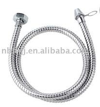 (1.5M) Stainless steel single-locked bidet hose