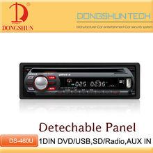 460U 1 din car DVD with USB/SD/MP3/Raido function for Car audio