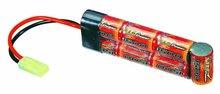NiMH Battery Pack for Air Soft Guns and Paintball Guns, 1,500mAh Capacity, 8.4V