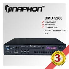 Naphon USB Record MIDI Karaoke DVD Player mp3 recording karaoke player DMD-5200
