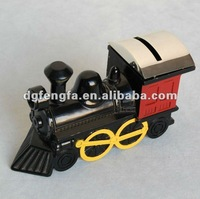 Metal Train Coin Bank