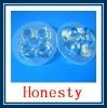 10x Led Lens 5 Degree For 1w 3w Lamp & Black Holder