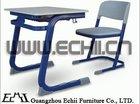 Durable metal plastic school furniture