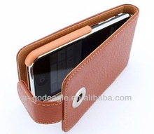 Leather Case For iphone 4S case G2760