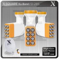 8 output Ku Band hd LNB