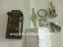 zinc alloy waterproof rim night latch lock