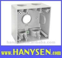 UL Aluminum weatherproof box/outlet box