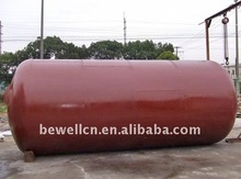 10m3 horizontal diesel oil storage tank