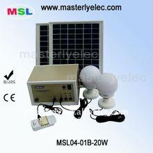 20W Portable Solar Emergency Standby Light