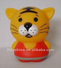 cute plastic tiger doll processing service