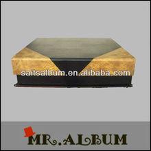 Leather wedding photo album case photo book case manufacturer in China