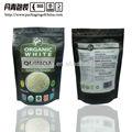 Arroz pakaging, sacoparaarroz, resalable stand saco para embalagem de alimentos com zíper