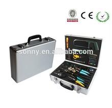 household portable aluminum tool box