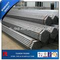 Astm a53/bs1139/bs1387/en39 carbono erw tubos de acero negro