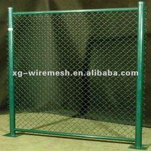 (Factory,PVC/PE,Galvanized) Chain Link Fence Panels