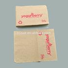 Kraft recycled paper napkins