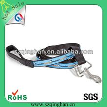 2014 fashionable design customed nylon woven logo pet leash