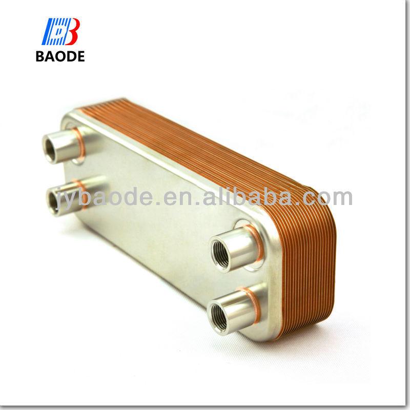 Теплообменник cb26 18 водяной теплообменник центрального отопления в дровяную печь