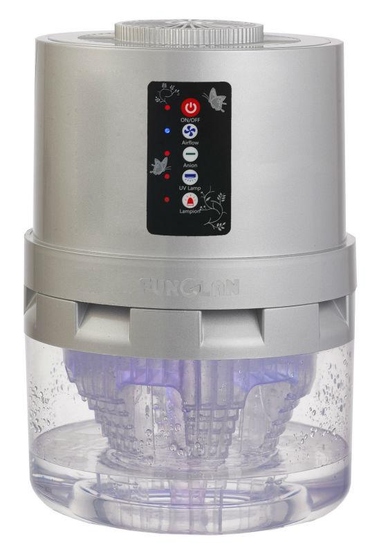 limpiador de aire electrostático