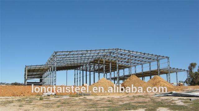 Bajo costo y fácil instalación de casas prefabricadas de acero equipos de almacenaje ( LT462 )