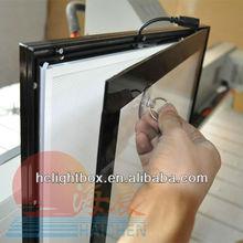 led aluminum board frame advertising material signage