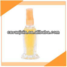 Fish Shaped Perfume Glass Bottle With Plastic Sprayer