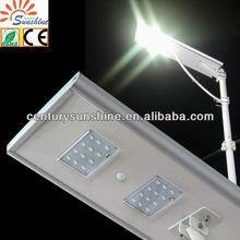 Motion sensor control- integrated solar street light