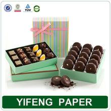 custom fancy luxury empty chocolate packaging boxes