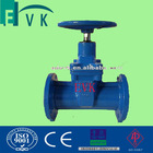 DIN Resilient Seated Gate Valve F5 Flane end