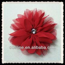 chiffon flower artificial flowers,fascinator for hair,hearwear accessories