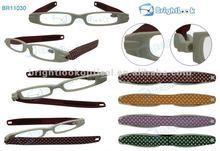 2012 Innovate patterndesign,TR90 folding reading glasses