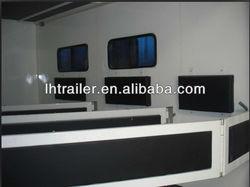 Aluminum gooseneck horse trailer for sale