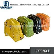 2012 latest lady fashion handbag with rivet GED00023