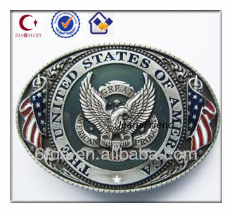 fashion custom wholesale belt buckles with eagle manufacture