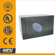 Home & Office safes F220-K / single wall / fire proof / Lazer cut door / Key lock / Black / EN14450 -S2 .
