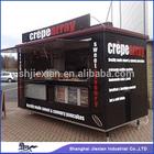 2014 Fibreglass Street Mobile kitchen Service Cart FS280F food truck